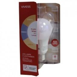 R LED-Lampe in 3 Lichtfarben Vivess (darf nicht in DE verkauft werden)