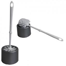 R WC-Garnitur silber