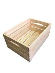 Holzkiste natur 40x30x18,5 cm