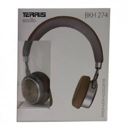 Kopfhörer Bluetooth, braun