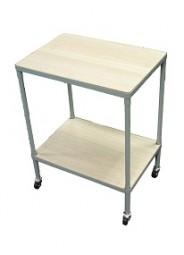 ! Tisch mit Rollen 65x50x35cm mint