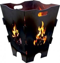 Feuerkorb 45x45x58 cm