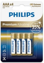 Batterie Philips LR03 AAA 4er Pack