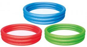 SO Pool 3 Ring Ø 183cm in rot, blau, grün BESTWAY®