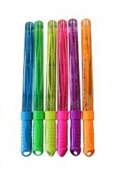 Seifenblasenschwert 125 ml 6 versch. Farben