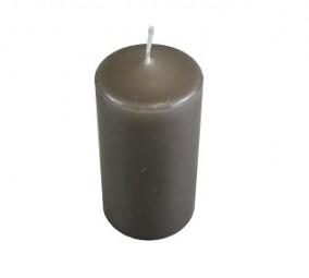 Kerze Stumpe 60/120 taupe