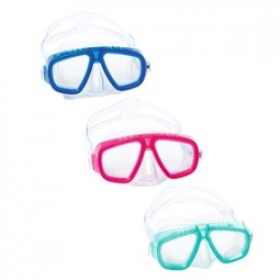 SO Schwimmmaske Child 3+, BESTWAY® blau, pink, türkis