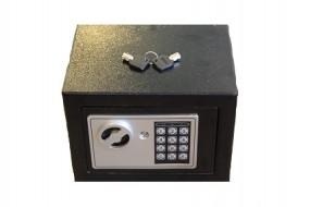 Safe Tresor 23x17x17cm elek. mit digitalem Zahlenschloss