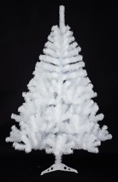 W Weihnachtsbaum aus Kunststoff Hx180cm weiß