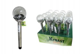 Solar Glaskugellampe LED Ø 6x34.5cm Kynast Garden