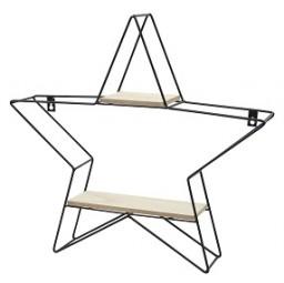 W Metallregal Stern H x 50 cm