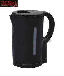 Wasserkocher Kunsttoff 1,7 Ltr. schwarz DESKI