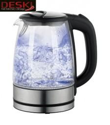 Wasserkocher aus Glas 1,7 Ltr. DESKI