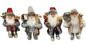 W Weihnachtsmann 40 cm, 4 Modelle