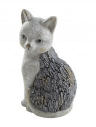 G Deko Katze 19x16x36 cm