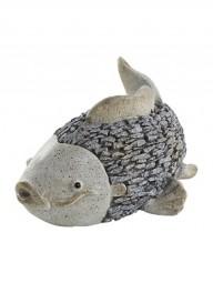 G Deko Fisch 36x28x15 cm