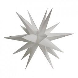 W Leuchtstern 3D 57 cm, mit Timer, Stromanschluß
