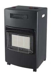 Gasheizung Infrarot 4,2 kW / Heizlüfter, schwarz