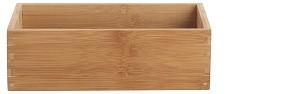 Bambus Aufbewahrungsbox 23x15x7 cm