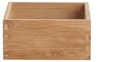 Bambus Aufbewahrungsbox 15x15x7 cm