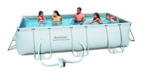 SO Pool XL Steel Frame 404x201x100cm BESTWAY®