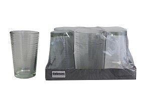 Glas - Trinkgläser 6er Pack 22cl DAY