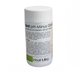 SO Best pH Minus Granulat 1,5 KG
