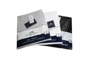 ! T-Shirt Polo-Club 3er Pack